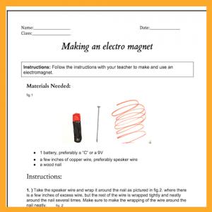 electromagnet blueprints